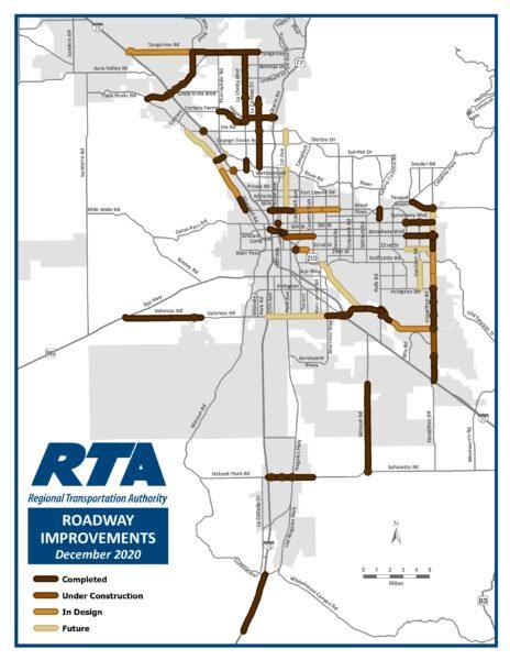 RTA Roadways Graphic