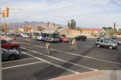 Bike and pedestrian count happening now – you can help